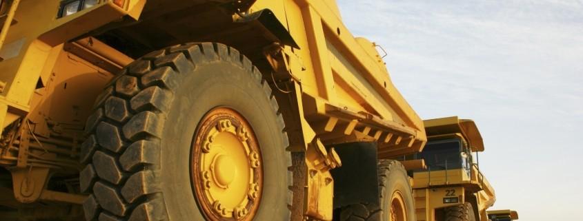 Foto camión de mineria